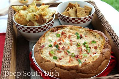 A hot pork BBQ dip, made easy with Pulled Pork BBQ from Byrons.