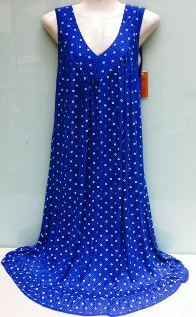 Bezauberndes Kleid – Sommerkleid- Strandkleid Made in ITALY Gr 40,42,44,46,48NEU