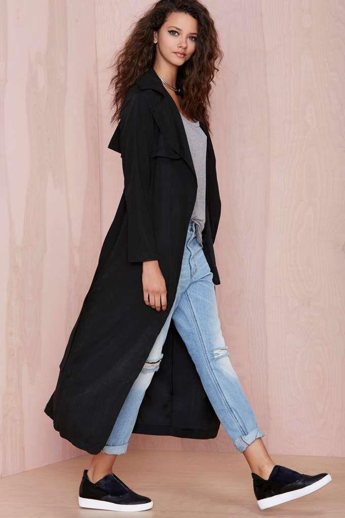 Tali Trench Coat | Shop Jackets + Coats at Nasty Gal