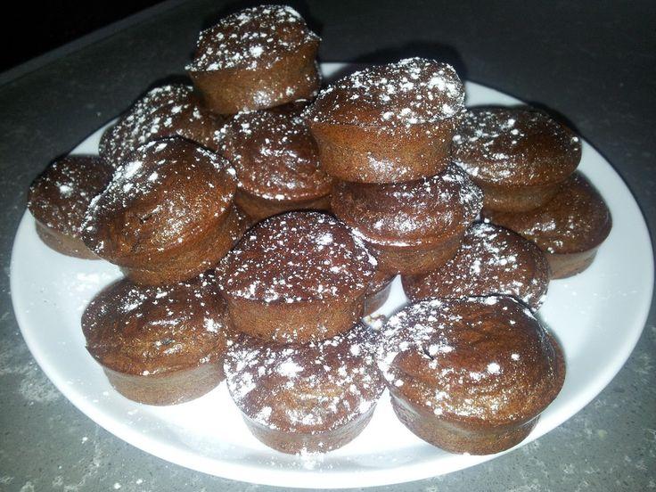 Chocolade kokos muffins