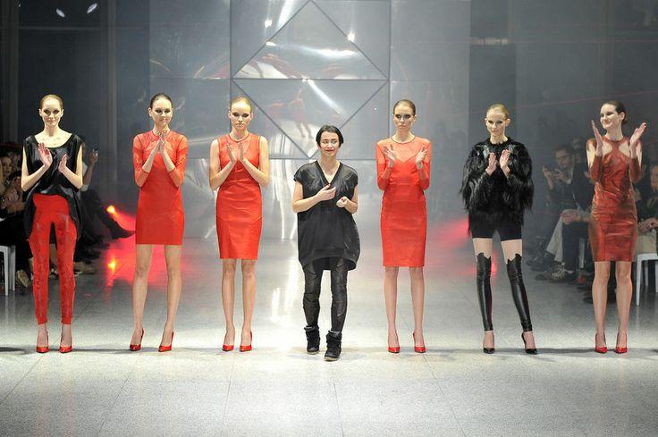 Agnieszka Maciejak - pokaz w Wola Center, 28.11.2013, fot. AKPA