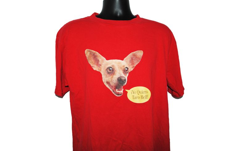 90's Yo Quiero Taco Bell! Classic Vintage Fast Food Restaurant Viral Ad Campaign Promo T-Shirt