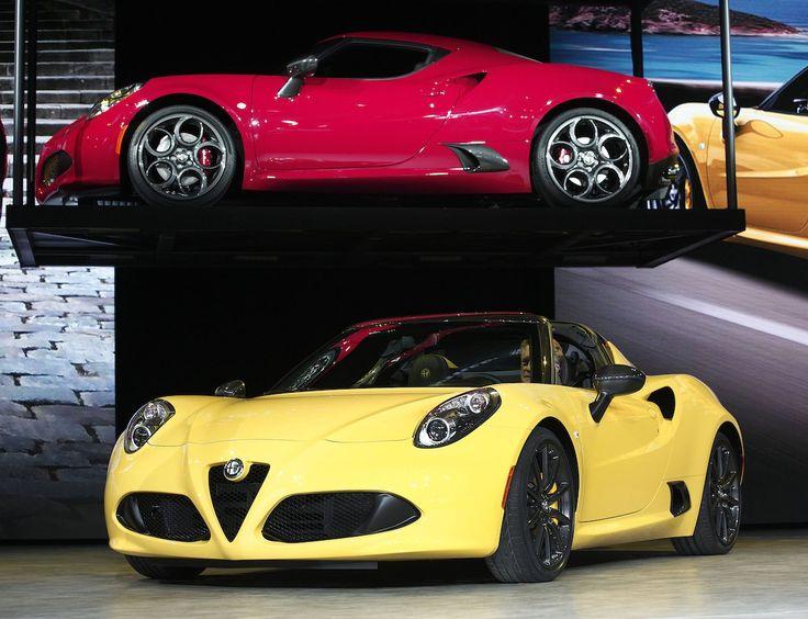 Alfa Romeo 4 C Spider
