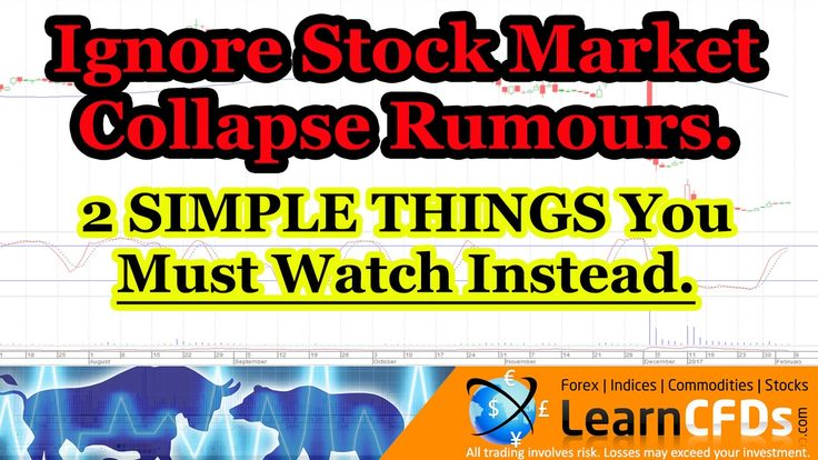 Stock Market Crash 2017 - I'll Show You How to Spot 2 Simple Warning Sig...