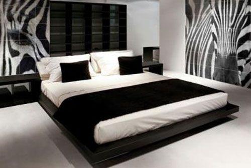 zebra bedroom | Caroprint-Zebra-Stripe-on-Bedroom