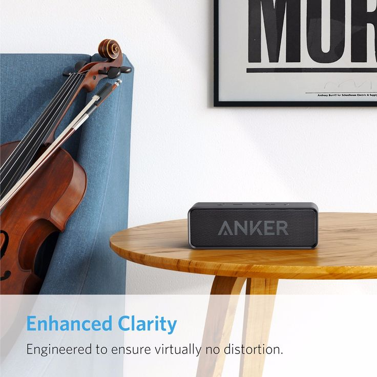Anker SoundCore Portable Wireless Bluetooth Speaker. #ANKER #Soundcore #Music #Audio #Audiophile #Speaker #Bluetooth #BluetoothSpeaker #FreeShipping #FreeWorldwideShipping #Portable #Wireless
