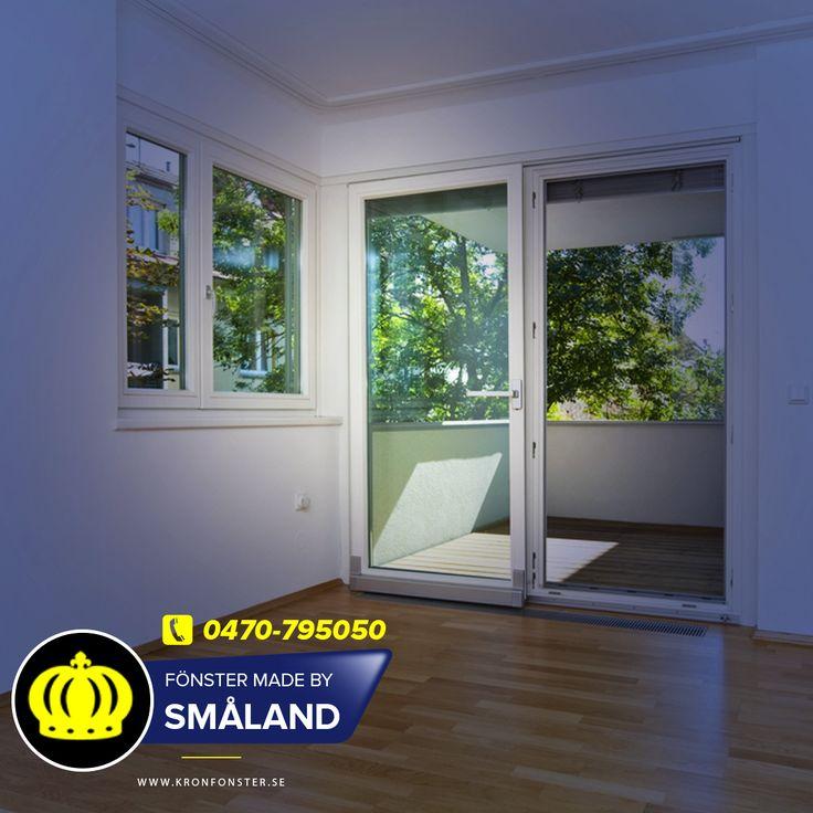 Dörrar från Kronfönster, designa din egen dörr!  Altandörrar, pardörrar och fönsterdörrar. Dörrar från Kronfönster - Made by Småland  #Dörrar #altandörr #vikdörrar #skjutdörrar #pardörrar #fönsterdörrar #Glasdörrar #Dörr #Made_by_Småland #Kronfönster  Läs mer » https://www.kronfonster.se/dorrar/?utm_content=buffer8c690&utm_medium=social&utm_source=pinterest.com&utm_campaign=buffer