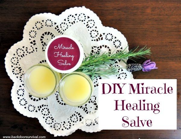 If you have not tried making your own salve, you really should. This stuff works! DIY Miracle Healing Salve | Backdoor Survival