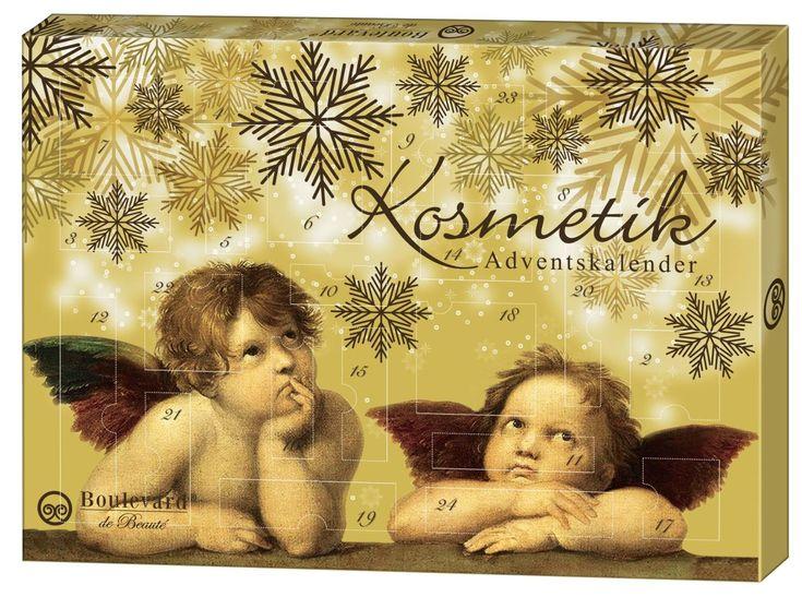 Adventskalender Engel Beauty Make-Up #Adventskalender #Weihnachtskalender