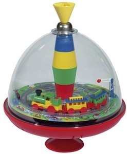train spinning top with sound - Bolz, Bolz spinning top, Caro and Jerrat, French ... - Green with Envy