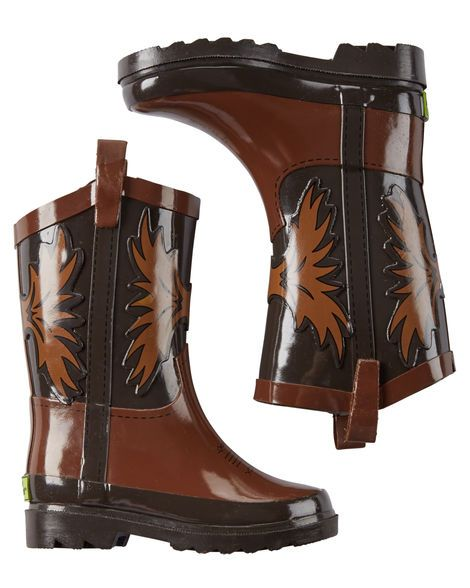 Western Chief Cowboy Rain Boots from Carters.com. Shop clothing & accessories from a trusted name in kids, toddlers, and baby clothes.
