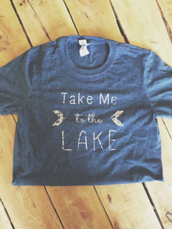 Take Me To the Lake by ShopTinRoofDesigns on Etsy