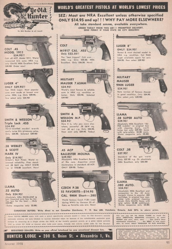 thought I'd share this Ad from a 1958 NRA magazine - AR15.COM