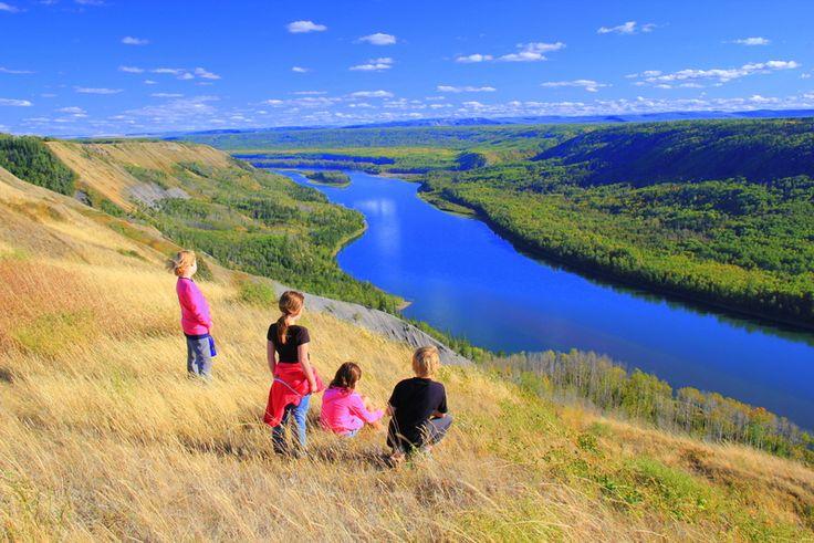 The beautiful Peace River