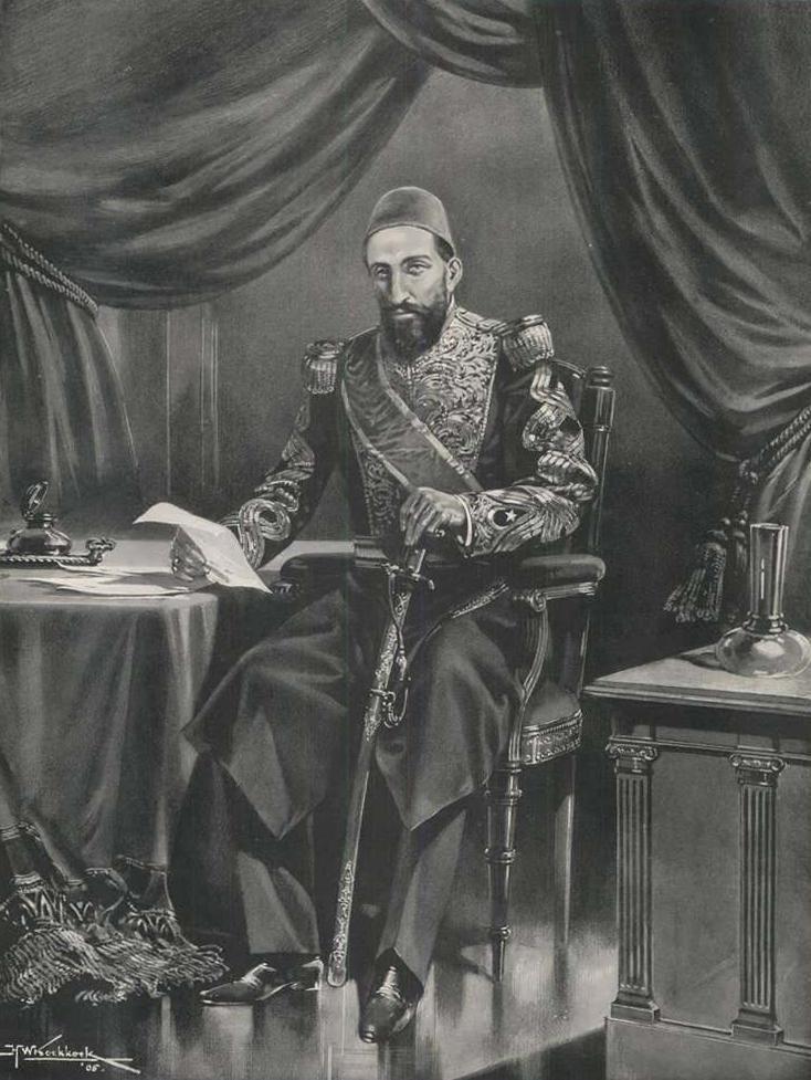 Sultan Abdulhamid II, 1905 #OttomanEmpire