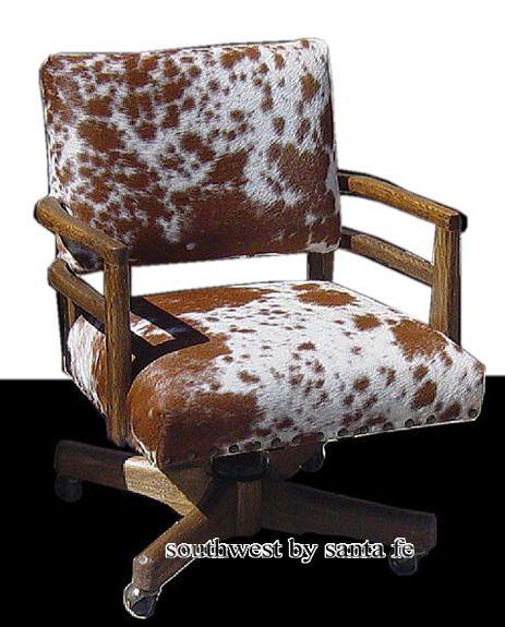Cowboy Southwestern Office Chair