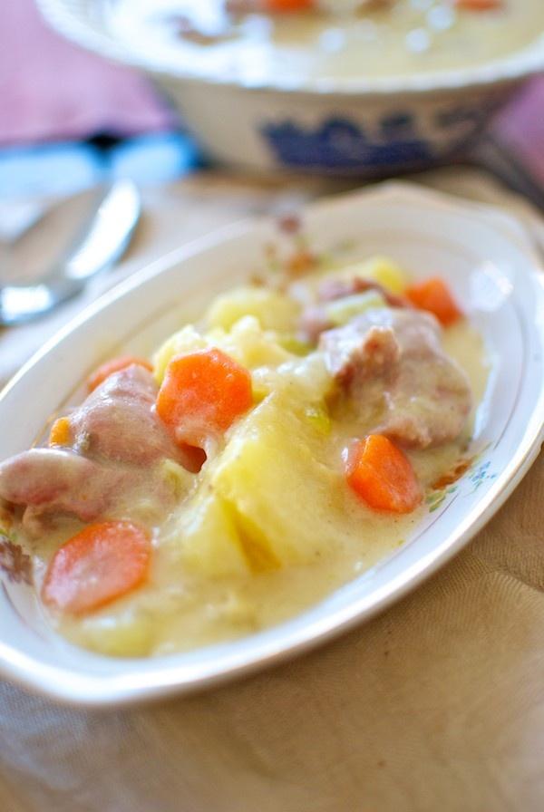 Receta de 'Blanqueta de pavo' de Pepekitchen para el blog 'A tu Gusto' de superSol. La mejor gastronomía :)