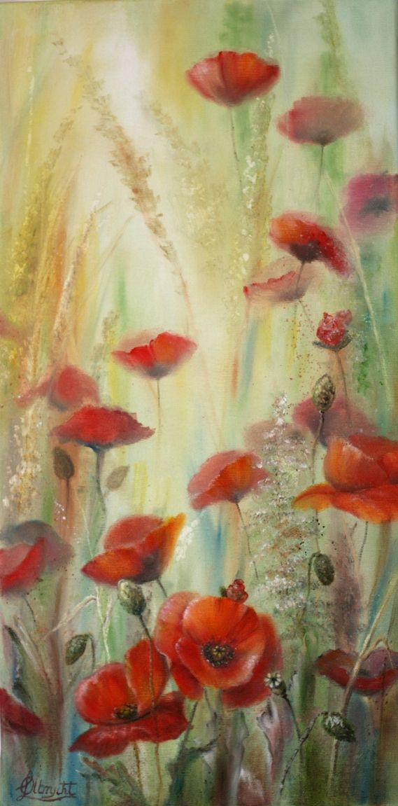 Poppies by Lidia Olbrycht