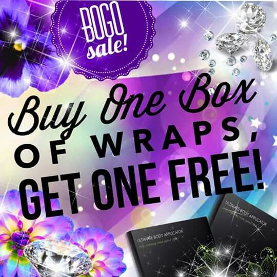 It Works wraps BOGO FREE!!  8 wraps for the price of 4 - $76 .See  real results in just 45 minutes Today is the last day to get in on this incredible BOGO offer. Check out my website: lisadankoitworks.ca