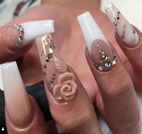 45 Creative and special Acrylic Coffin Nails – Nails
