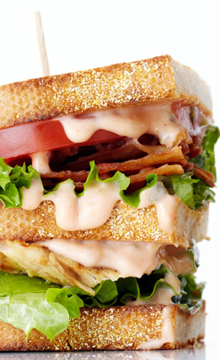 This is one club you're gonna want to join - Grilled Chicken Club Sandwich recipe #BiteMeMore