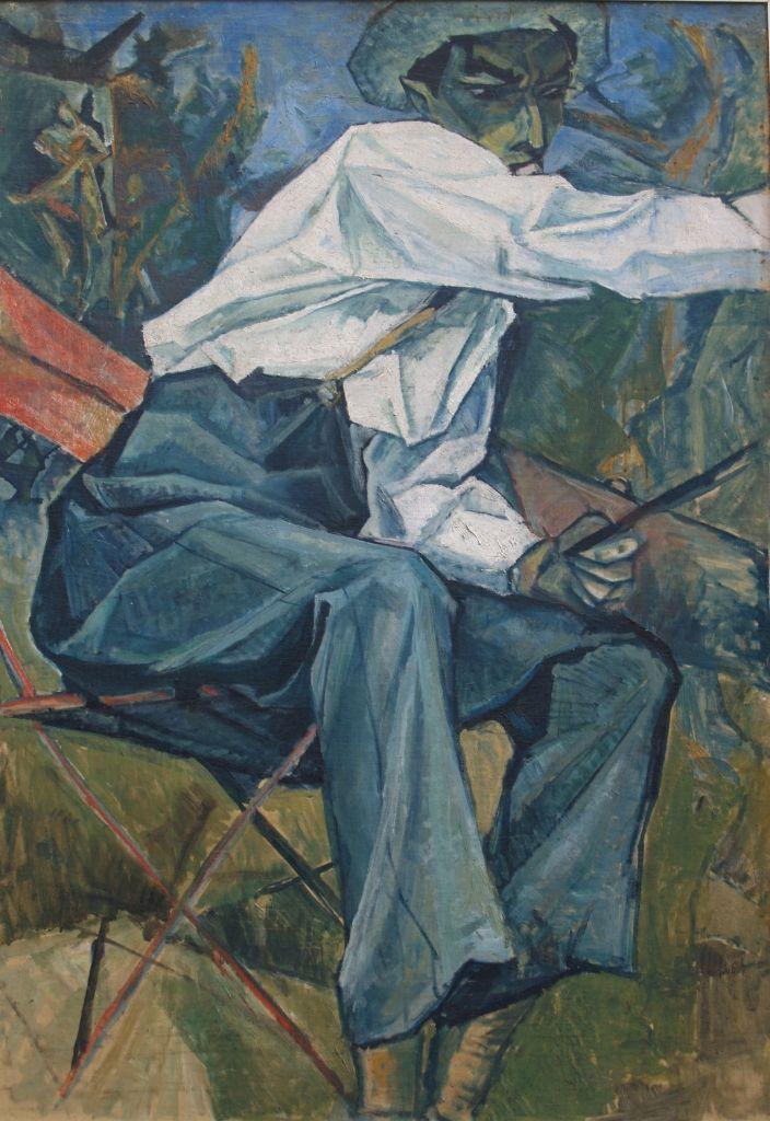 מרסל ינקו, מוזיאון ינקו-דאדא, עין הוד Portrait of the artist Davidescu, 1911,Rumania