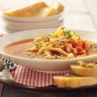 Recept - Witte-bonensoep met pasta - Allerhande
