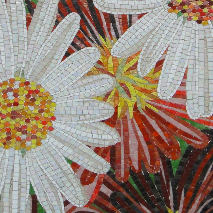 M s de 1000 ideas sobre mural de flores en pinterest for El mural de mosaicos