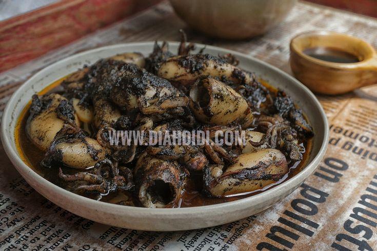 Diah Didi's Kitchen: Cumi Masak Tinta