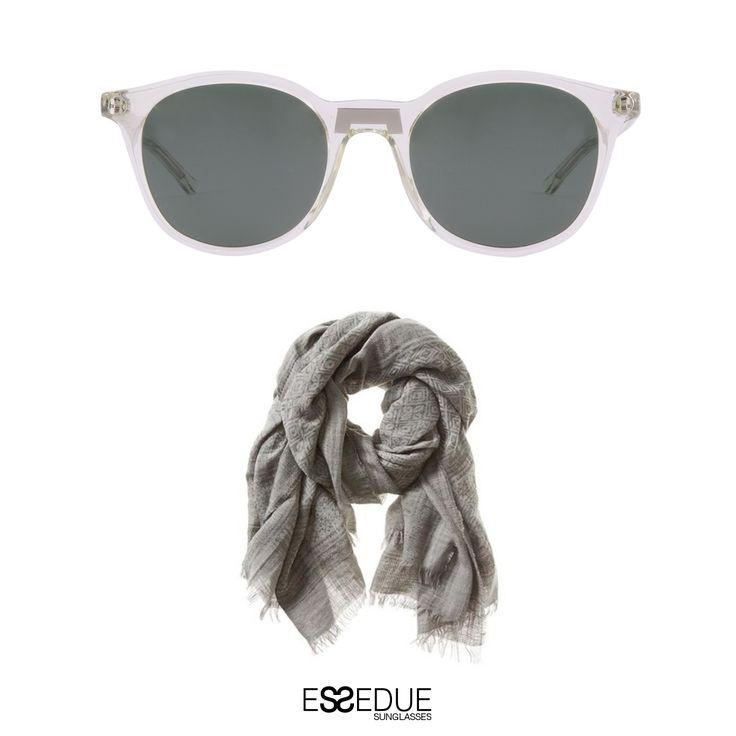 #essedue #esseduesunglasses #sunglasses #lentepiatta #style #grey #vintage #pantos