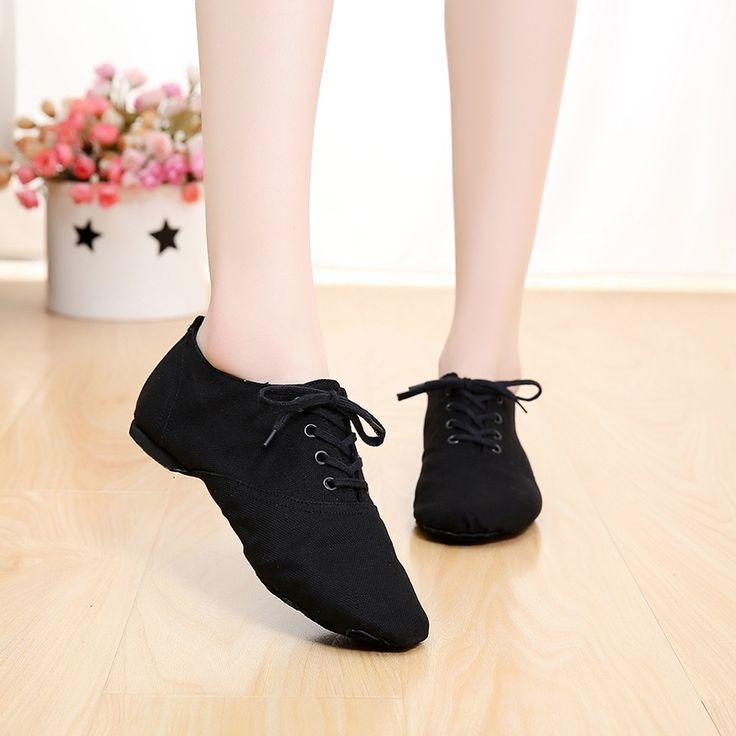 Profesional de lona Suave zapatos de mujer zapatillas de punta de ballet de danza jazz zapatos de Interior para HOMBRES zapatilla 28-45 zapatos de jazz 4012