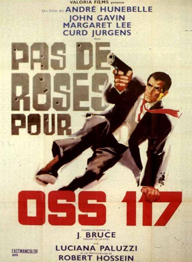 Affiche Pas de roses pour OSS 117