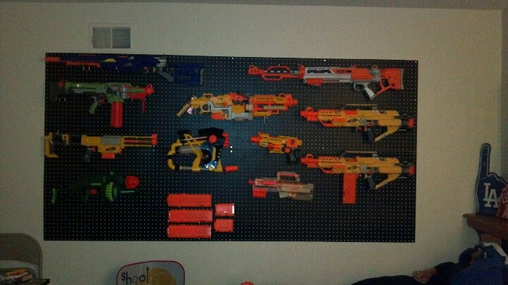 Nerf Wall In Boys Room Super Cheap Got Board At Home