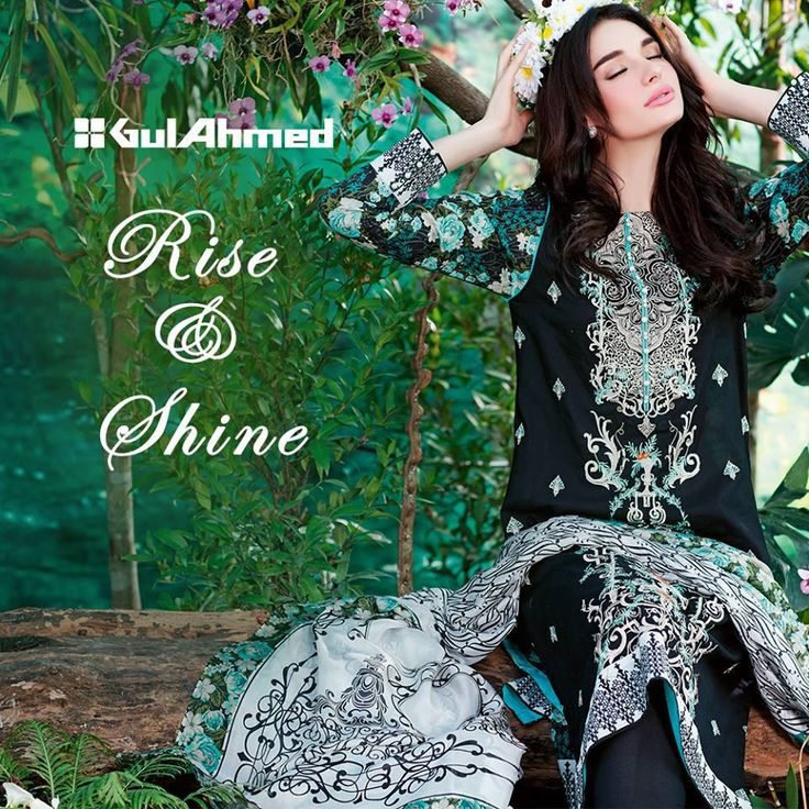 Gul Ahmed Spring/Summer Lawn collection 2016 for Girls