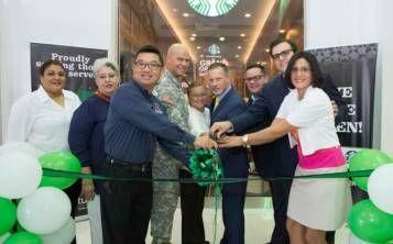 Starbucks abre tienda en Buchanan