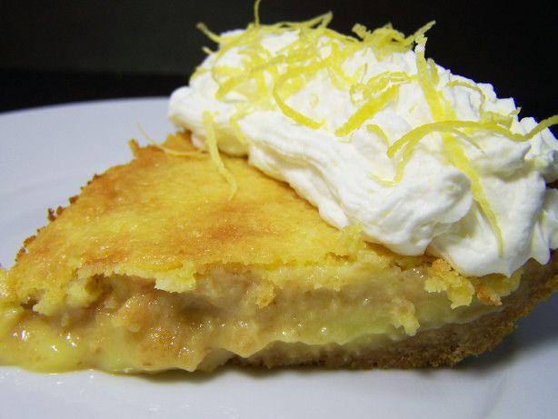 French Canadian Lemon Pie
