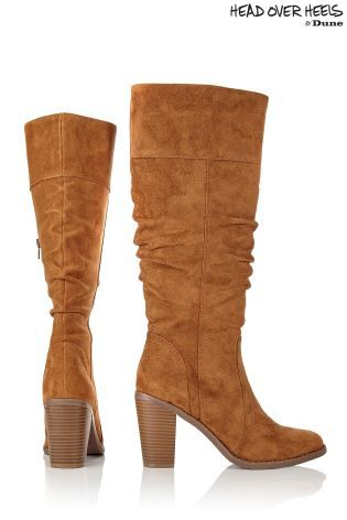 Buy Head Over Heels Ruched Knee High Boots from the Next UK online shop