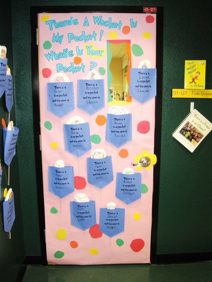There 39 s a wocket in my pocket dr seuss day pinterest for Pocket door ideas