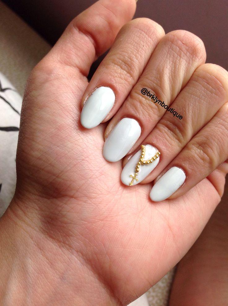 Rosary nail art