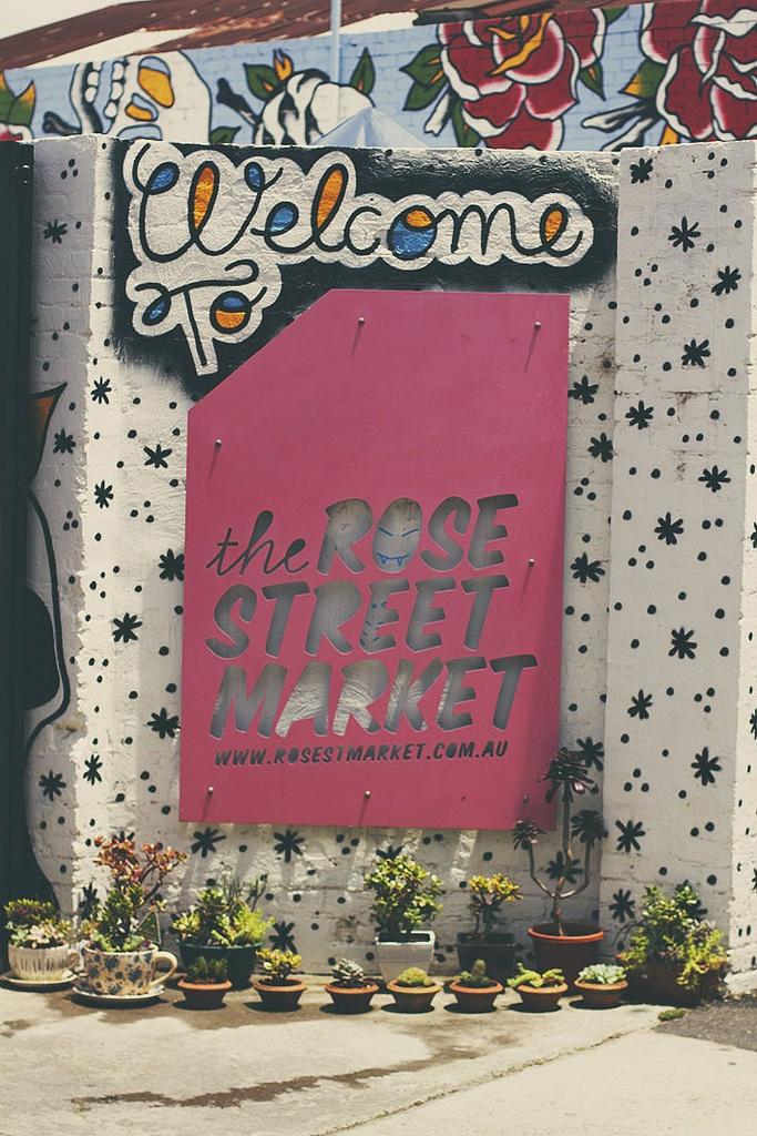 Rose Street Market, Collingwood, Melbourne - Australia