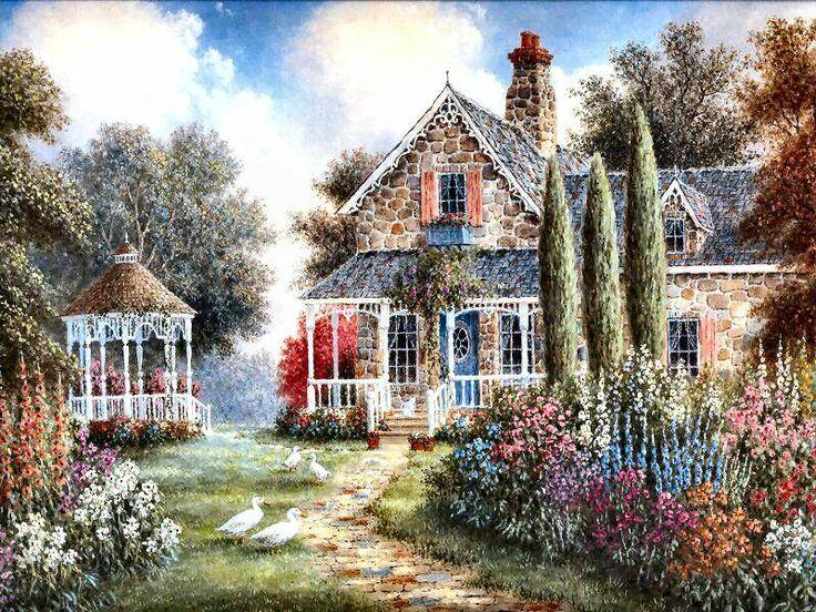 Elmira's Cottage by Dennis Patrick Lewan