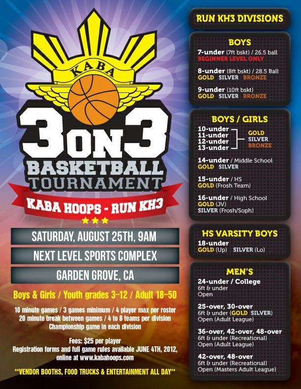13 best tournament flyers images on Pinterest Basketball - basketball flyer example