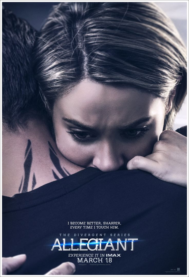 Tris And Four Embrace In New 'allegiant' Character Posters Divergent