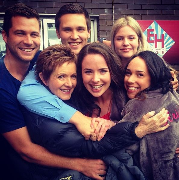 Ash Brewer is well loved! #BehindTheScenes #Neighbours