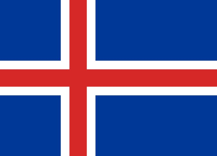 Flag of Iceland - Gallery of sovereign state flags - Wikipedia, the free encyclopedia