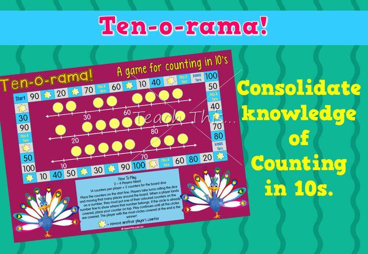 Counting In Tens - Ten-o-rama
