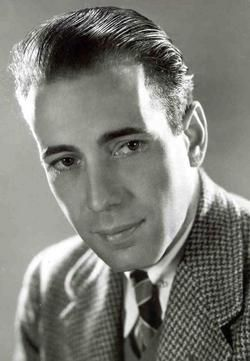 Humphrey Bogart! (Of all the gin joints in all the towns in all the world, she walks into mine.)