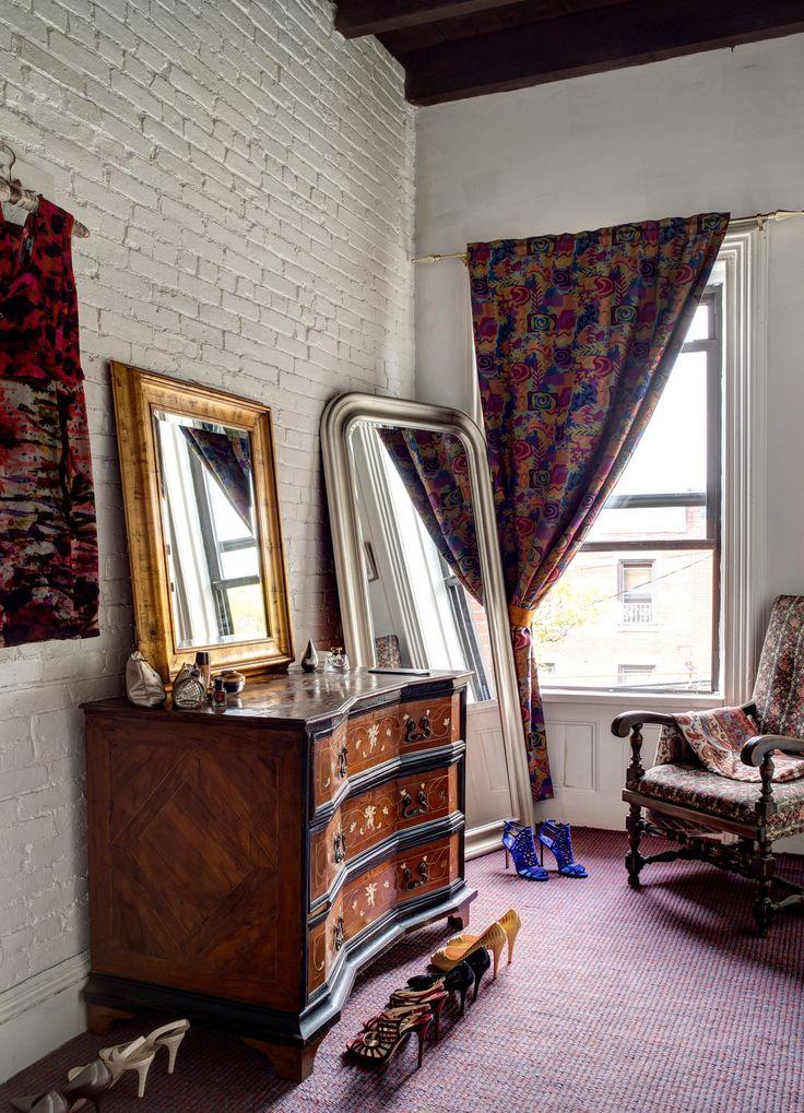 Samar Maziad's dressing room. (Photo: Bruce Buck for The New York Times)
