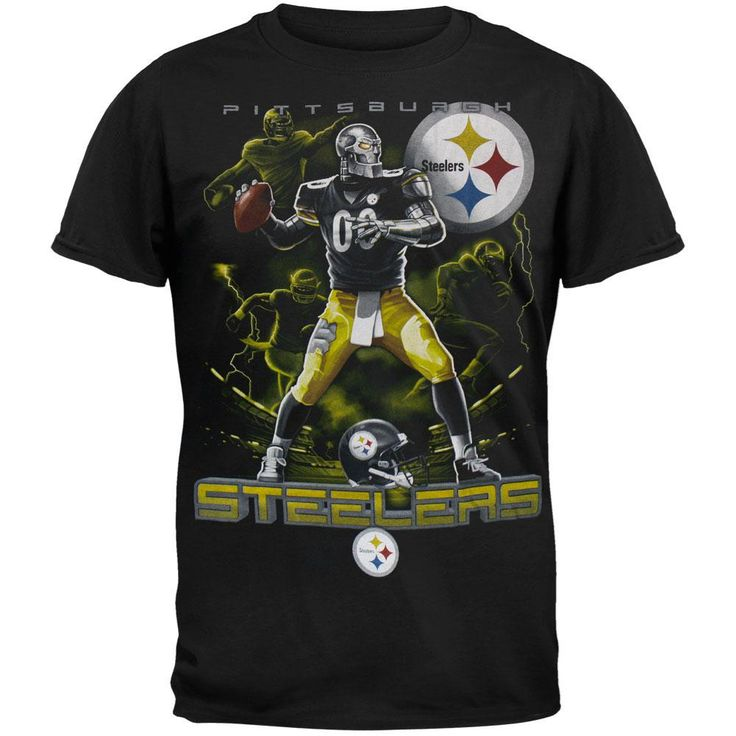 Pittsburgh Steelers - Quarterback Adult T-Shirt