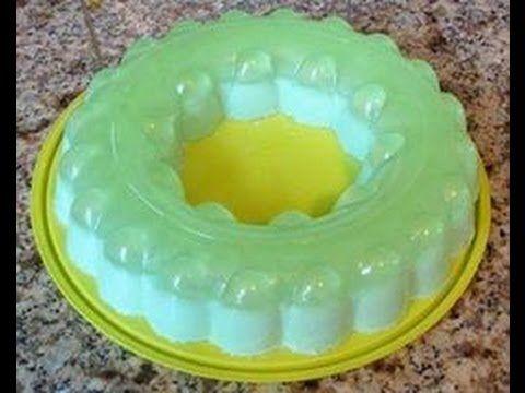 ▶ Gelatina de Limon con Queso Crema - YouTube